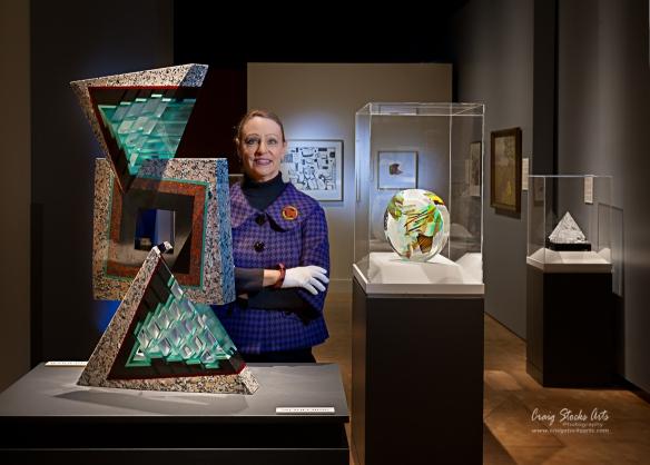 Kristan McKinsey, senior curator at the Peoria Riverfront Museum in Peoria, Illinois